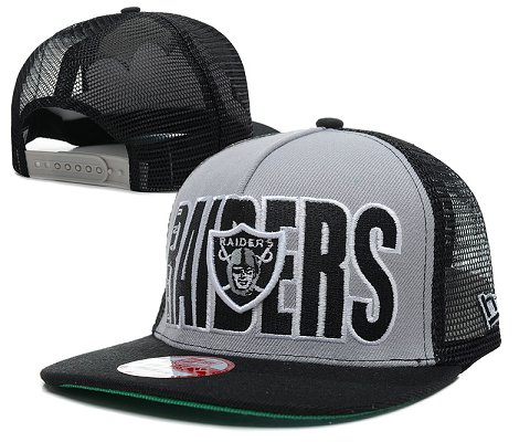 Oakland Raiders NFL Snapback Hat SD14